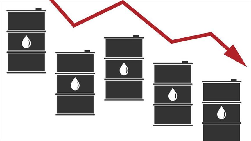 Oil prices down with worries over glut and storage