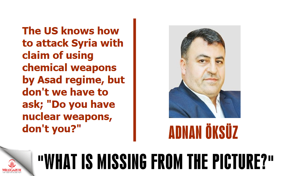 Oksuz: 'What is missing from the picture?'