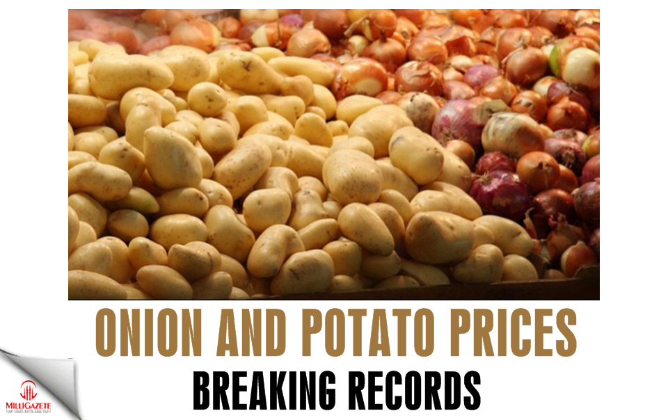 Onion and potato prices are breaking records