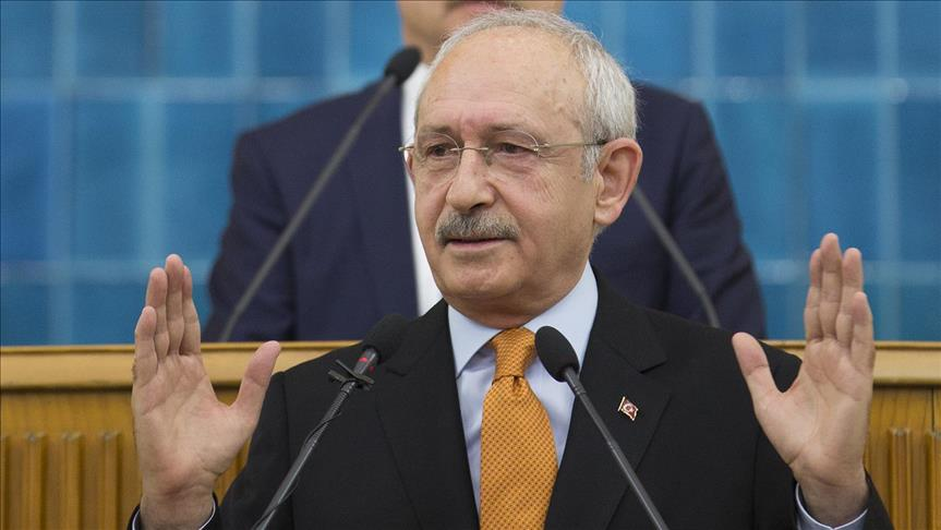 Opposition head: CHP will not question Erdogan's legitimacy
