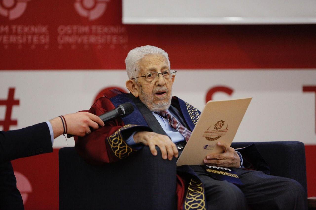 OSTIM University grants an honorary doctorate to Recai Kutan