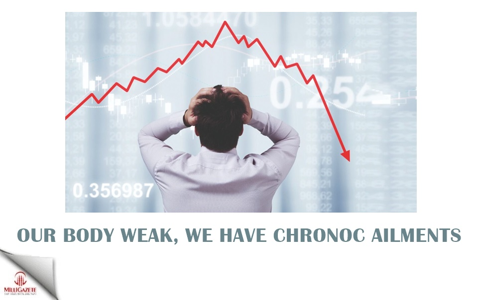 Our body is weak, we have chronic ailments