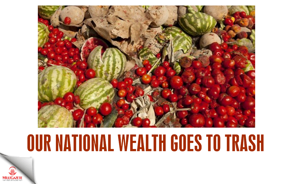 Our national wealth goes to trash