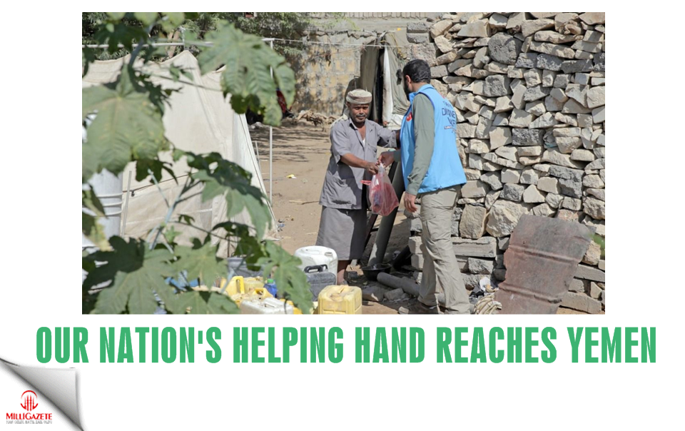 Our nations helping hand reaches Yemen