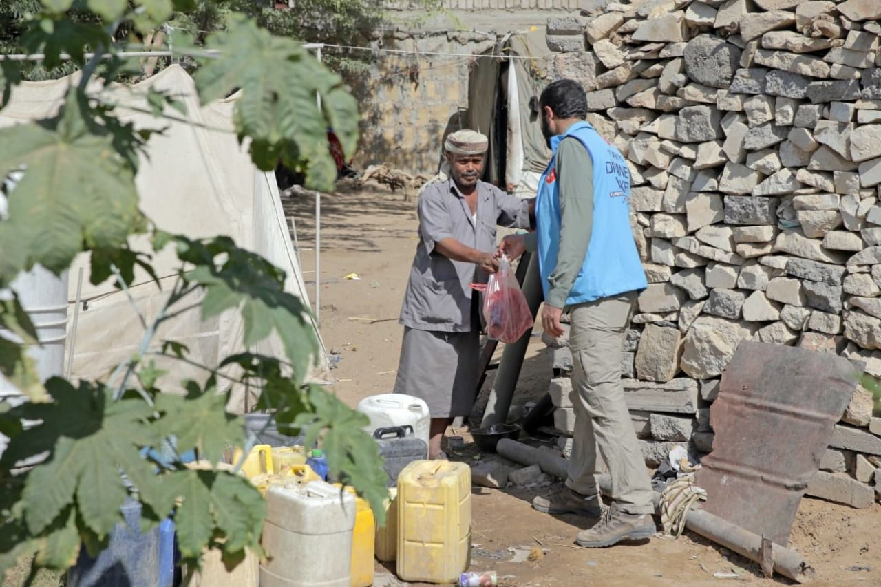 Our nation's helping hand reaches Yemen