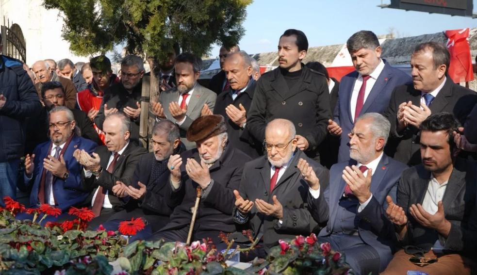 Our prays are for Erbakan Hodja