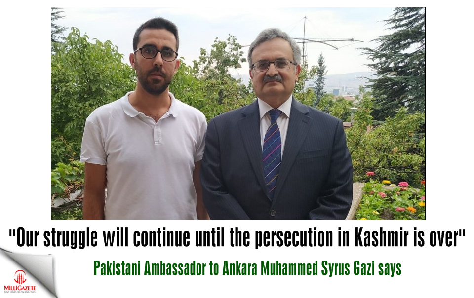 """Our struggle will continue until the persecution in Kashmir is over"""