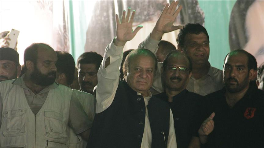 Ousted Pakistani PM re-elected as ruling party head