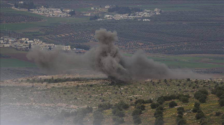 Over 1,550 terrorists 'neutralized' in Afrin operation