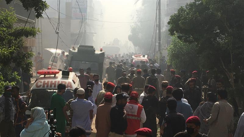 Pakistan passenger plane crashes in Karachi, dozens killed