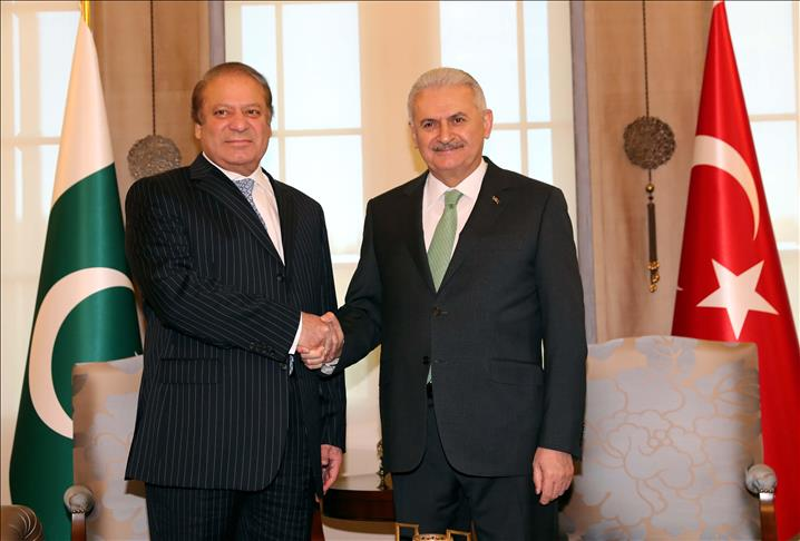 Pakistani PM Sharif to co-chair strategic council in Ankara
