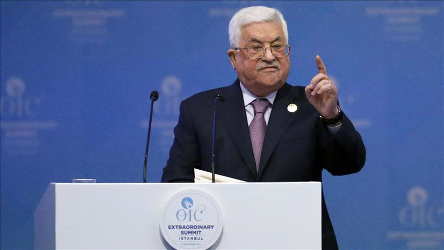 Palestine president rules out US role in peace process