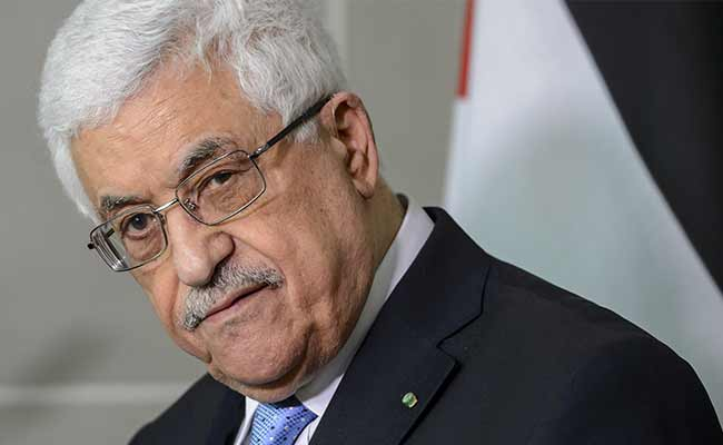 Palestinian President Mahmoud Abbas was taken to hospital