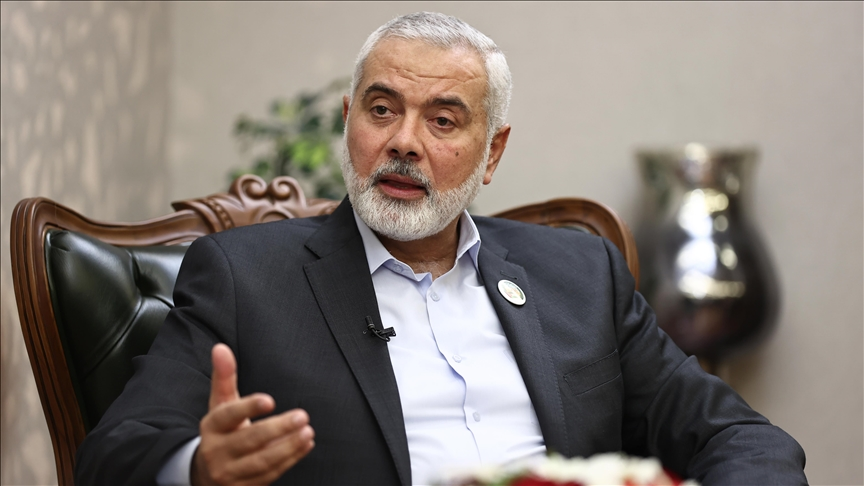 Palestinian right to return sacred: Hamas chief