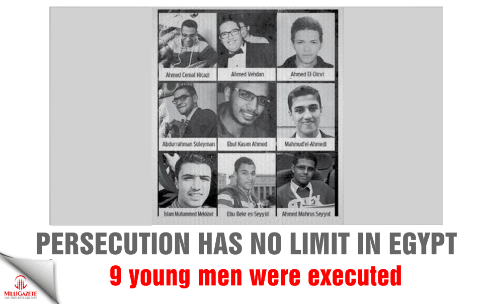 Persecution has no limit in Egypt: 9 young men were executed!
