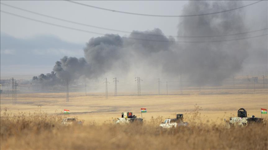 Peshmerga forces advance on Iraq's Mosul