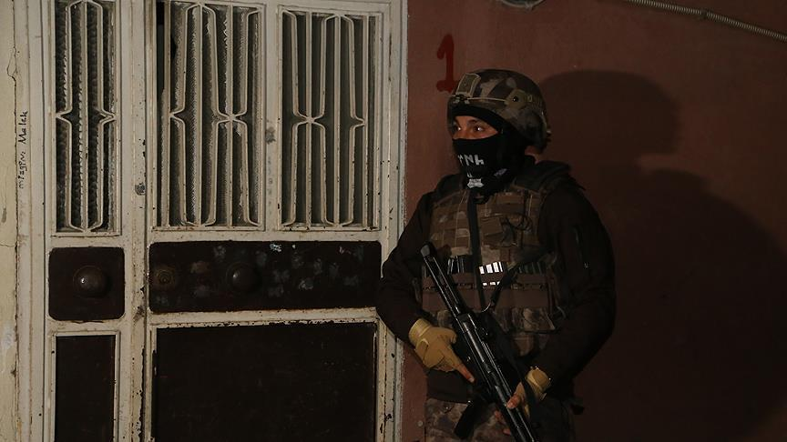 PKK suspects  detained in police raids