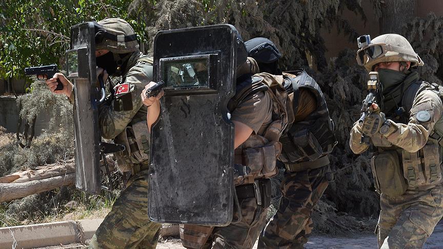 PKK terrorists killed in southeastern Turkey