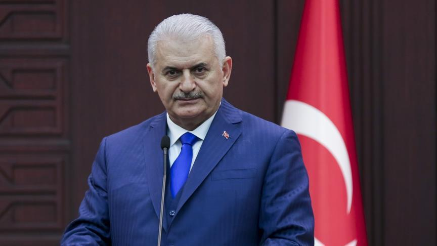 PM Yildirim sends condolences to US Vice President