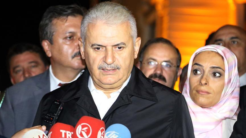 PM Yildirim:'No step back' in fighting PKK