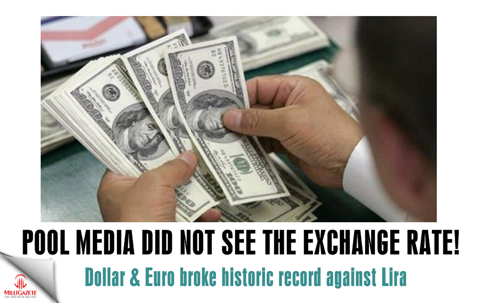 Pool media did not see the exchange rate!