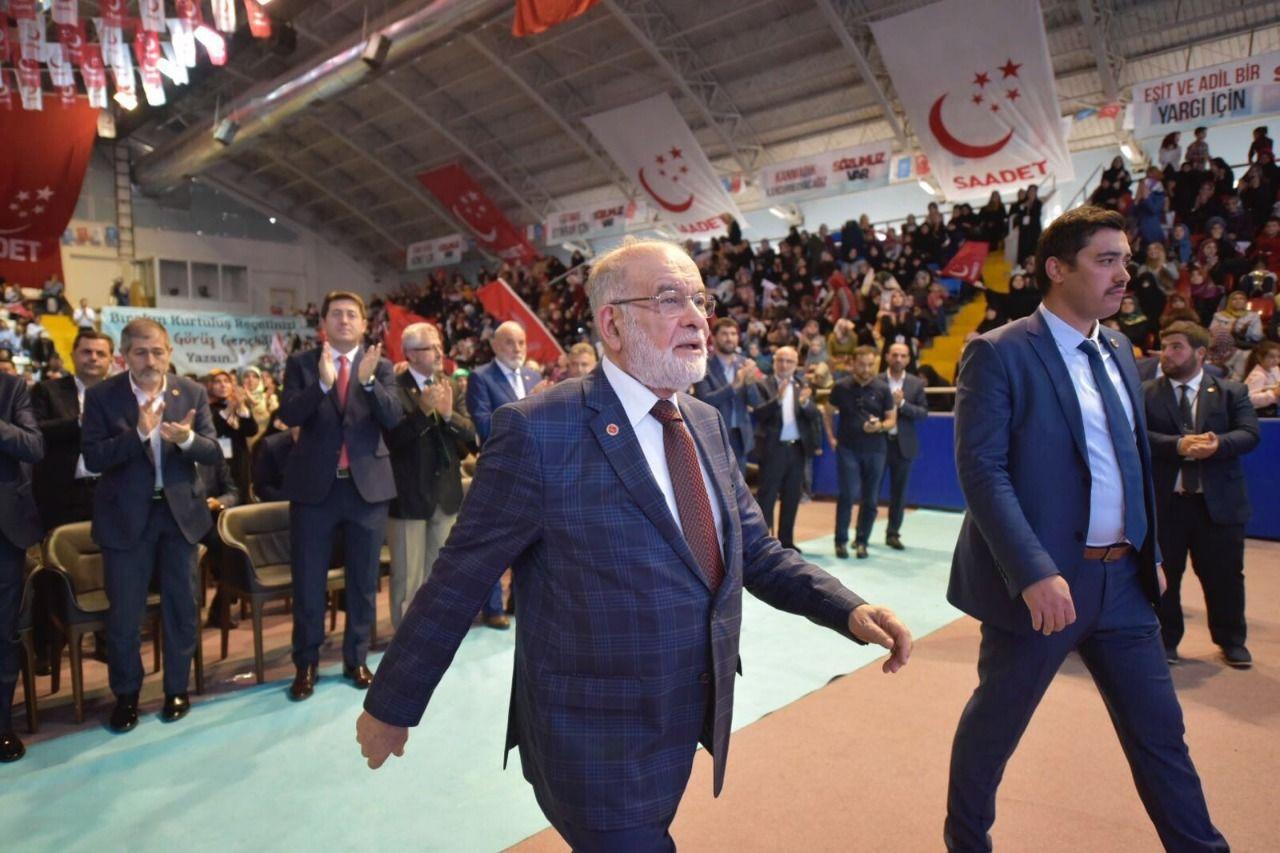 Popularity of Saadet Party leader Karamollaoglu is rising