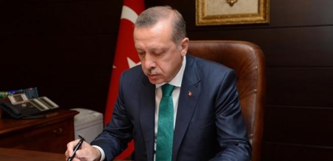 President Erdogan approves constitutional change bill
