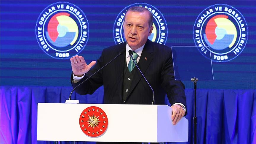 President Erdogan: 'Let's produce our own cars'