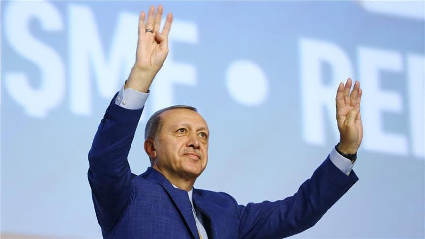 President Erdogan reelected head of ruling AK Party