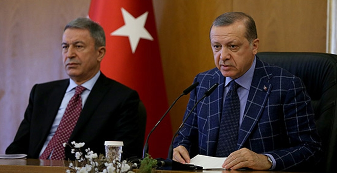 President Erdogan slams Turkish daily over army chief story