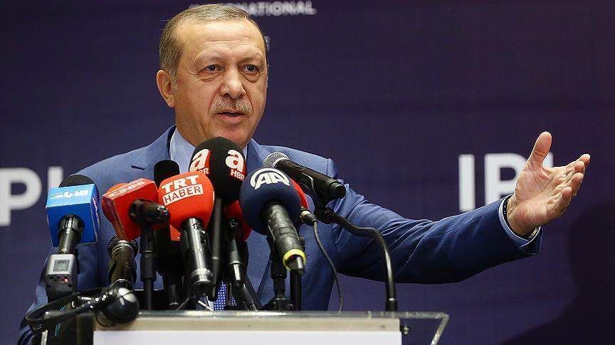 President Erdogan: Turkey seeks to create safe zone in Syria