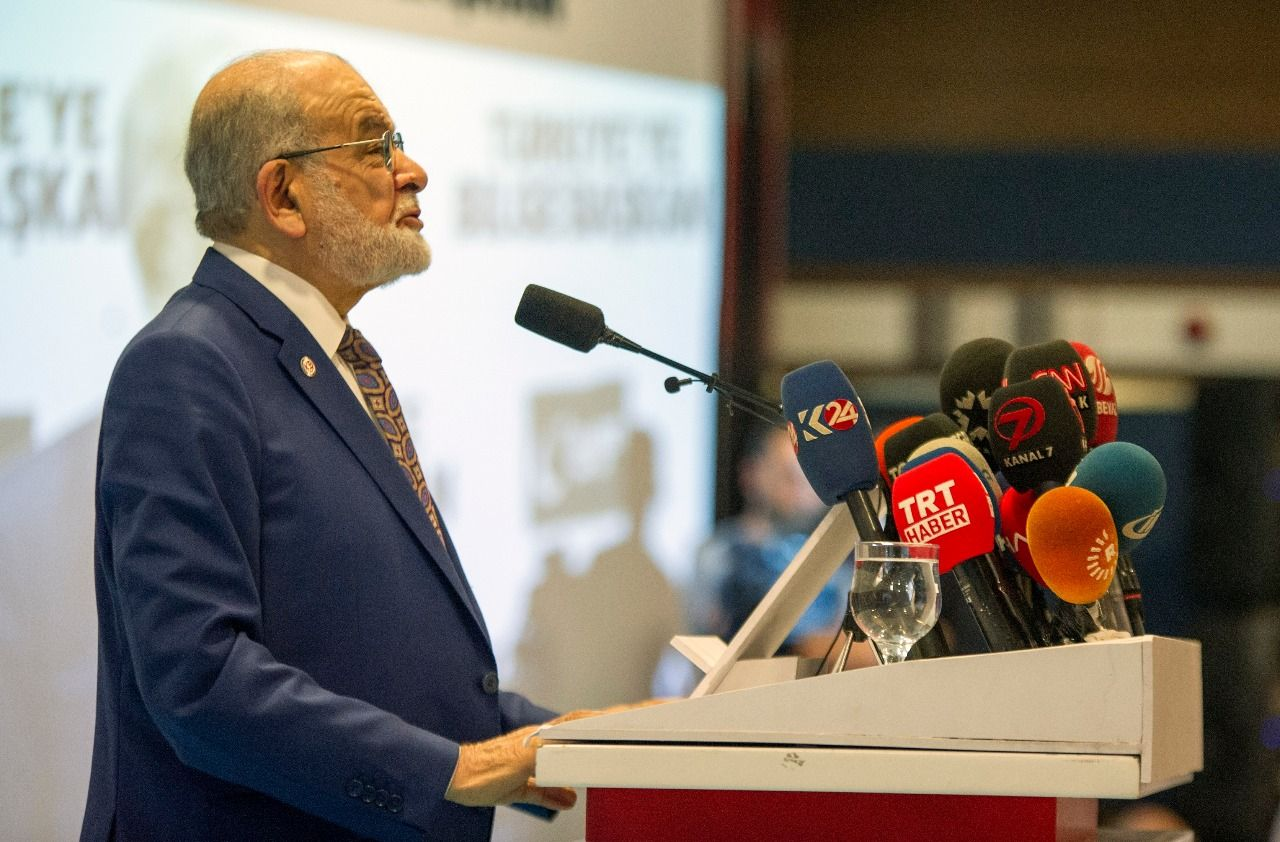 Presidential candidate Karamollaoğlu explaines the principles of the Saadet Party