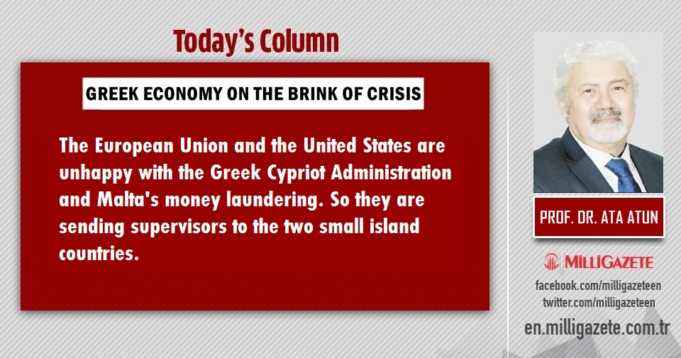 "Prof. Dr. Ata Atun: ""Greek economy on the brink of crisis"""