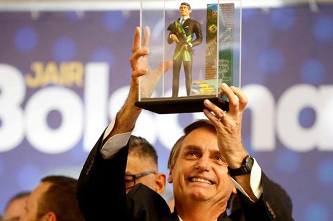 Pro-zionist, Bolsonaro won the presidential election of Brazil