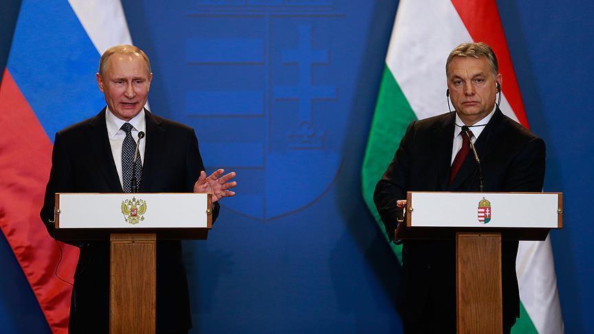 Putin: 'Gas can be moved to Hungary via Turk Stream'