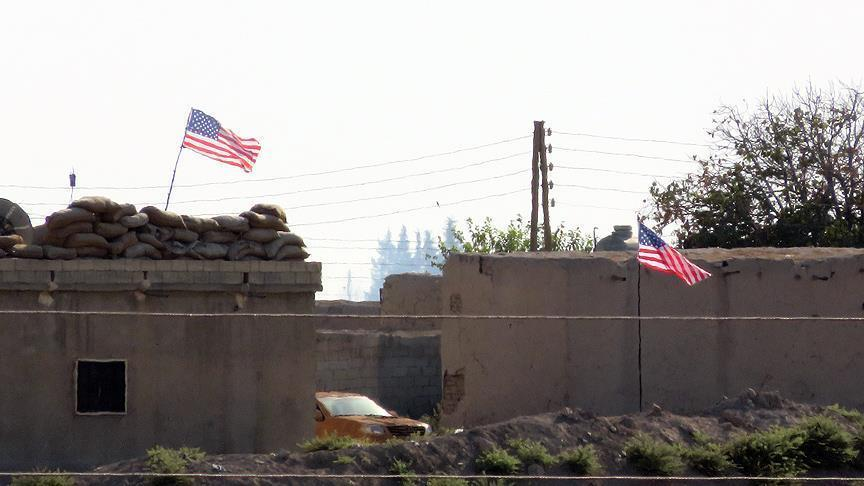 PYD again misusing US flags in northern Syria