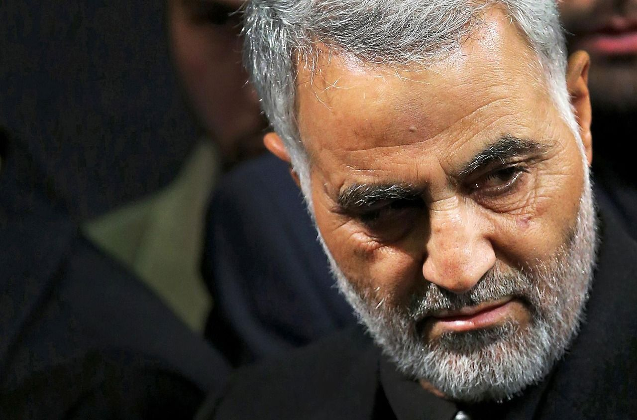 Qasem Suleimani is the target of Israel