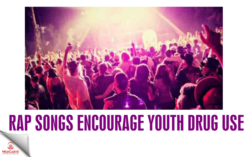 Rap songs encourage youth drug use