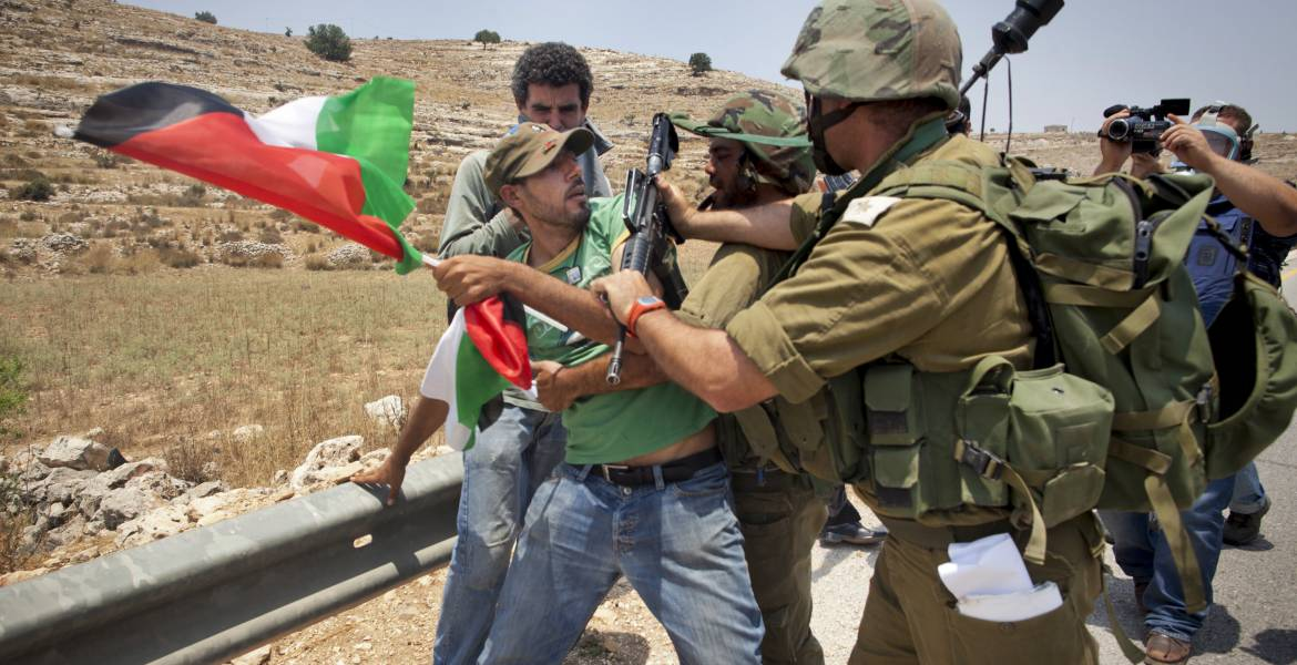 Report: 2558 Israeli violations in the West Bank and Jerusalem in January
