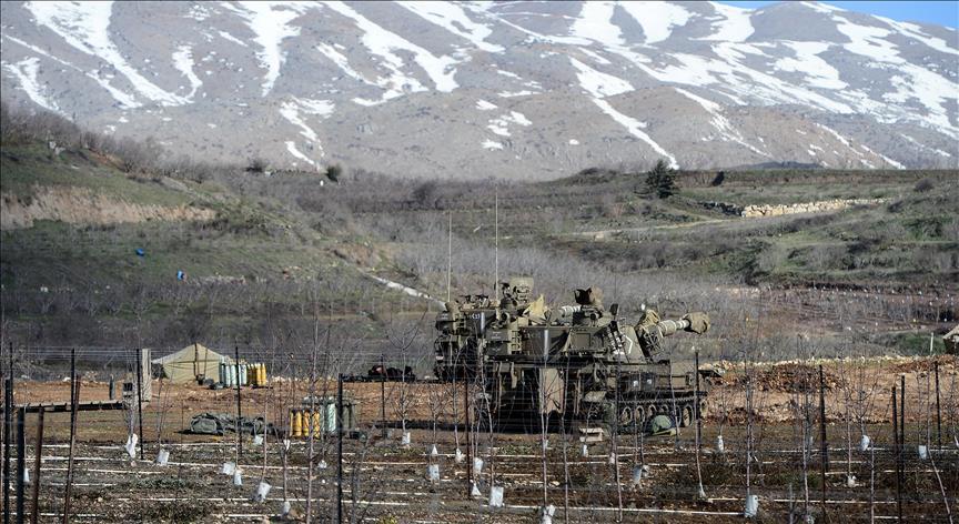 Rocket sirens sound in Israel-occupied Golan Heights
