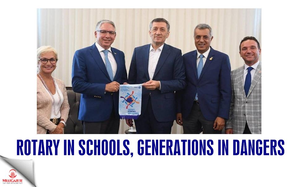 Rotary in schools, generations in danger