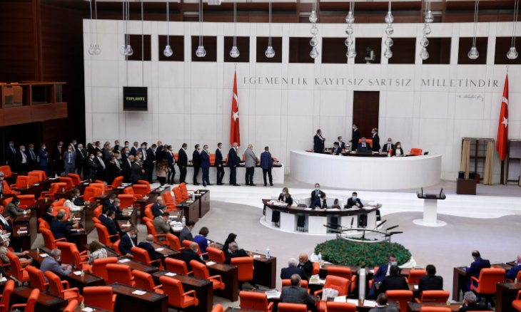 Ruling partys Mustafa Şentop reelected as parliament speaker in third round of voting