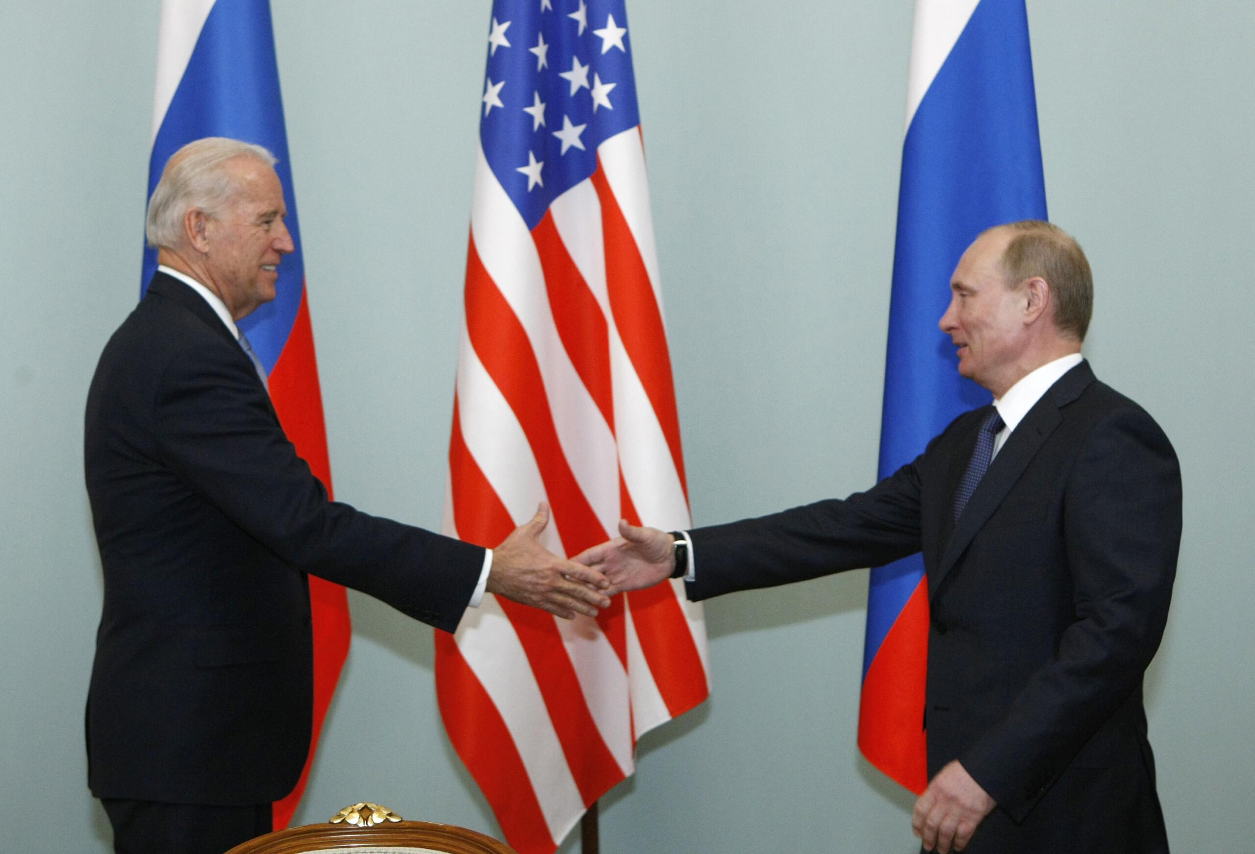 Russia's Putin congratulates Biden on winning U.S. election