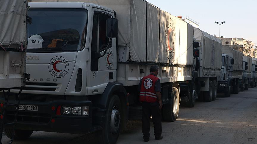 Russia rejects claims its warplanes hit aid convoy