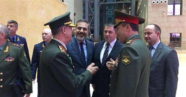 Russian, Turkish chief of staff talk over Syria, Mosul