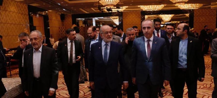 Saadet delegation attends Iranian reception