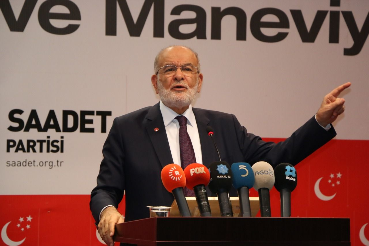 Saadet leader Karamollaoğlu: First of all, common sense and dialogue
