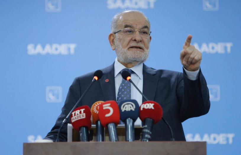 Saadet leader Karamollaoğlu gives date for early elections