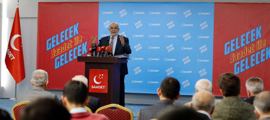 Saadet leader Karamollaoğlu: Peace in Syria would be with Syria