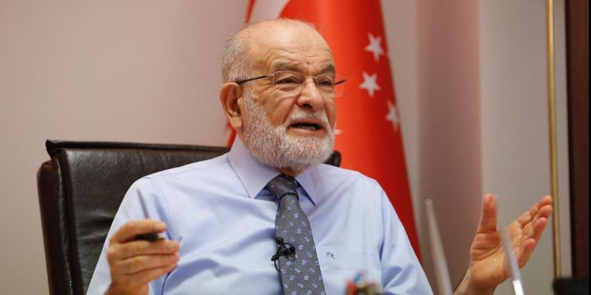 Saadet leader Karamollaoğlu: